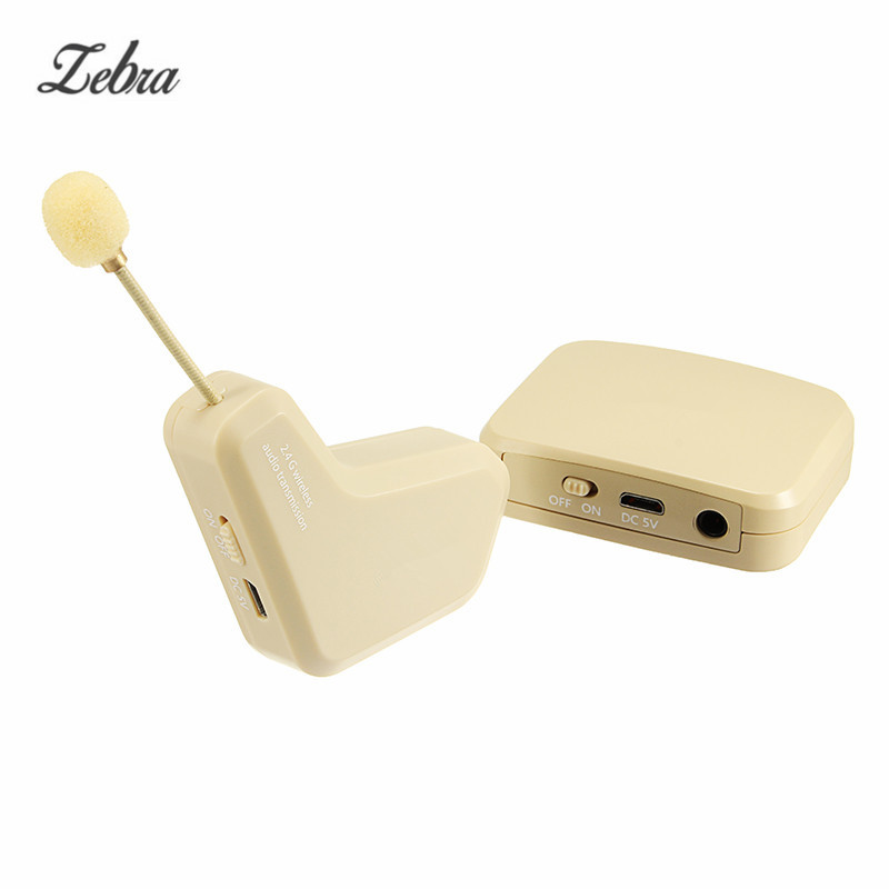 Zebra Wireless Electronic Violin Guitar Pickup Microphone for Violin Musical Stringed Instruments Tackle Tool Accessories
