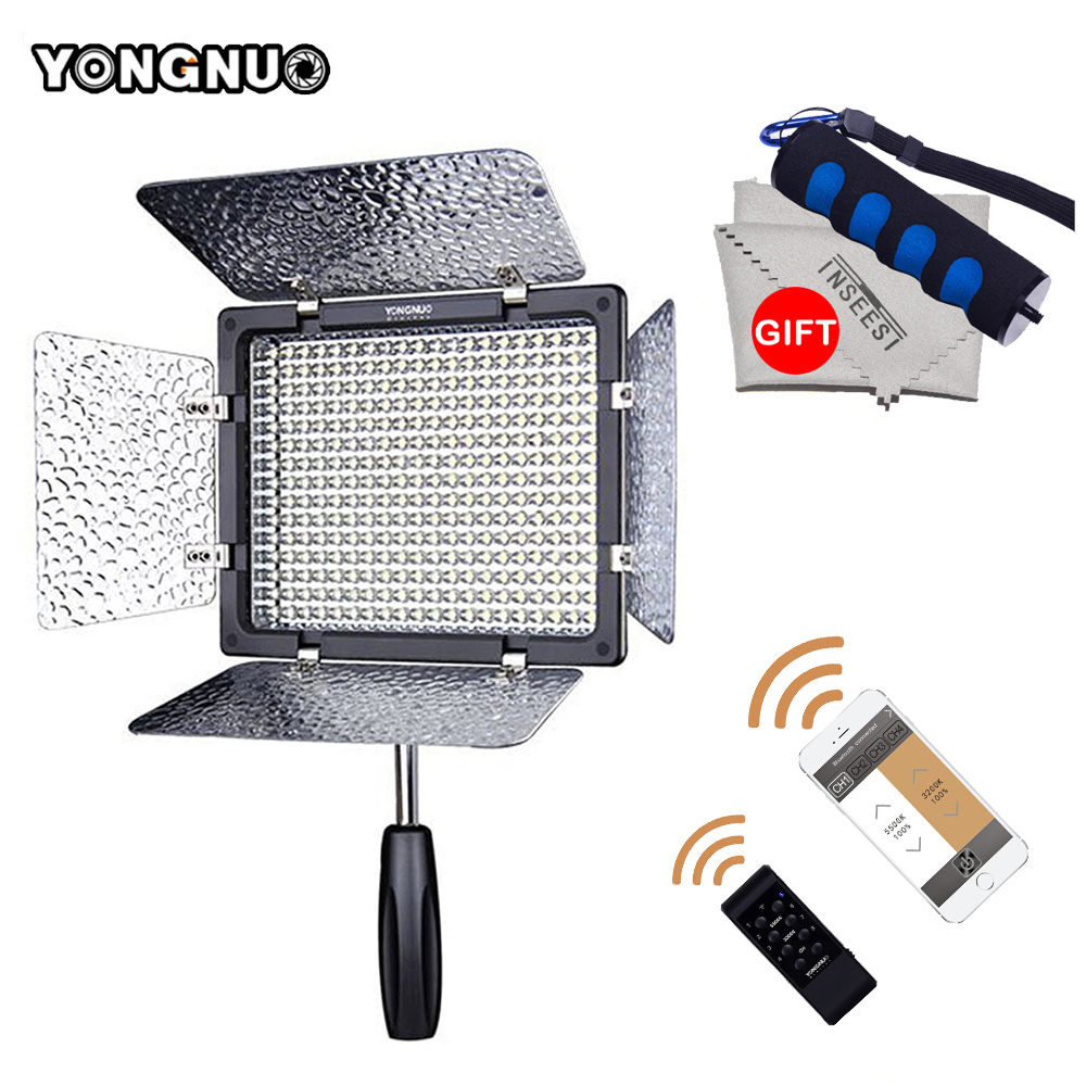 Yongnuo YN300 III 5500K LED Video Light YN-300 III DSLR Camera Photo Studio Lighting Lamp For Canon Nikon Pentax Olympus Samsung 2018 yongnuo yn320 photo studio led panel video light with stand holder high brightness video light for canon nikon dslr camera