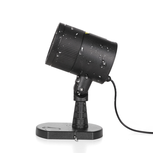 Dynamic Laser Light Projector