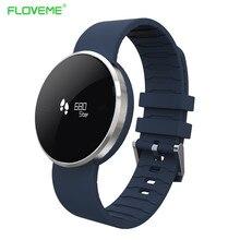 Floveme A24 Bluetooth Smart Часы Android SmartWatch Водонепроницаемый мужские часы сидячий напомнить монитор сердечного ритма часы браслет
