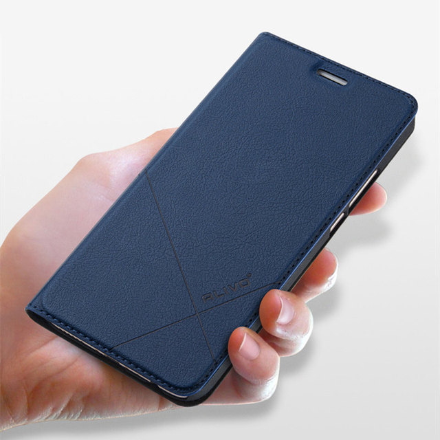 new styles 9bf8f f9f4e US $11.22  ALIVO Brand For Meizu M6 Note Case Leather Flip Protector Cover  Meizu M6 Mini Mobile Phone Bag Cases Luxury Business Accessory-in Flip ...