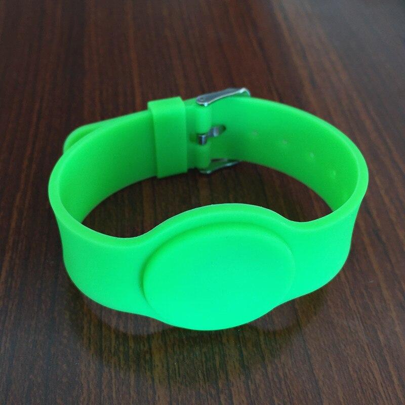 DHL free shipping 40pcs 13.56mhz 1k iso 14443a watch style silicon rfid wristband hw v7 020 v2 23 ktag master version k tag hardware v6 070 v2 13 k tag 7 020 ecu programming tool use online no token dhl free