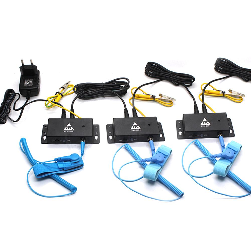 Auto-alarm Anti Static Esd Wrist Strap Tester Output Anti-static Online Monitor For Anti-static Electronic Tool