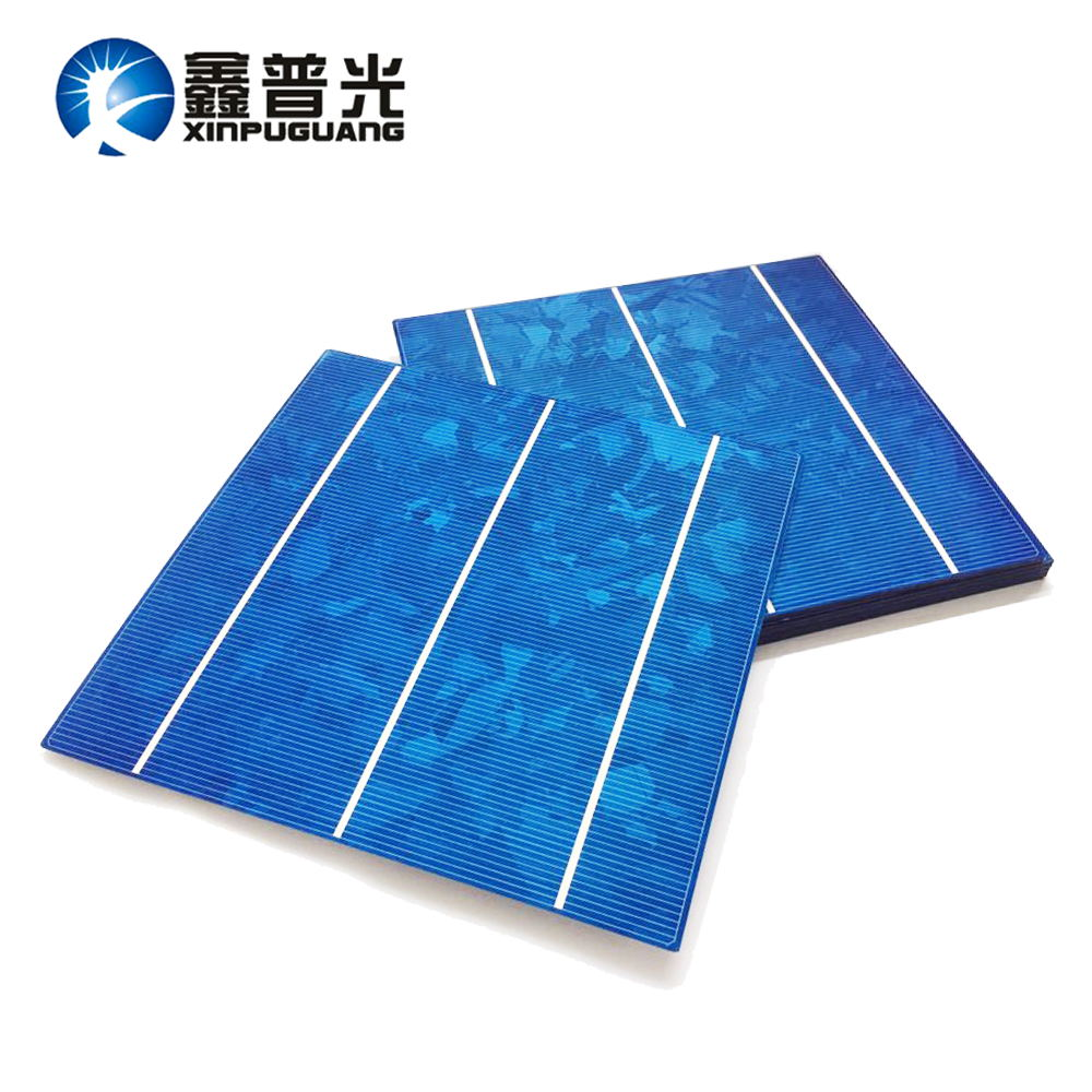 XINPUGUANG 30pcs 156*150MM 4.2W Polysilicon silicon solar cell PV module Photovoltaic 18% efficiency DIY 120w solar panel 0.5v
