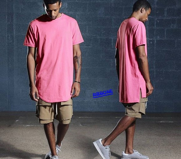 new 2016 distressed layered tee extended oversized tee Extended Short  Sleeve Tee extended Scoop Tee streetwear skate boy tshirt 2fa386e4968