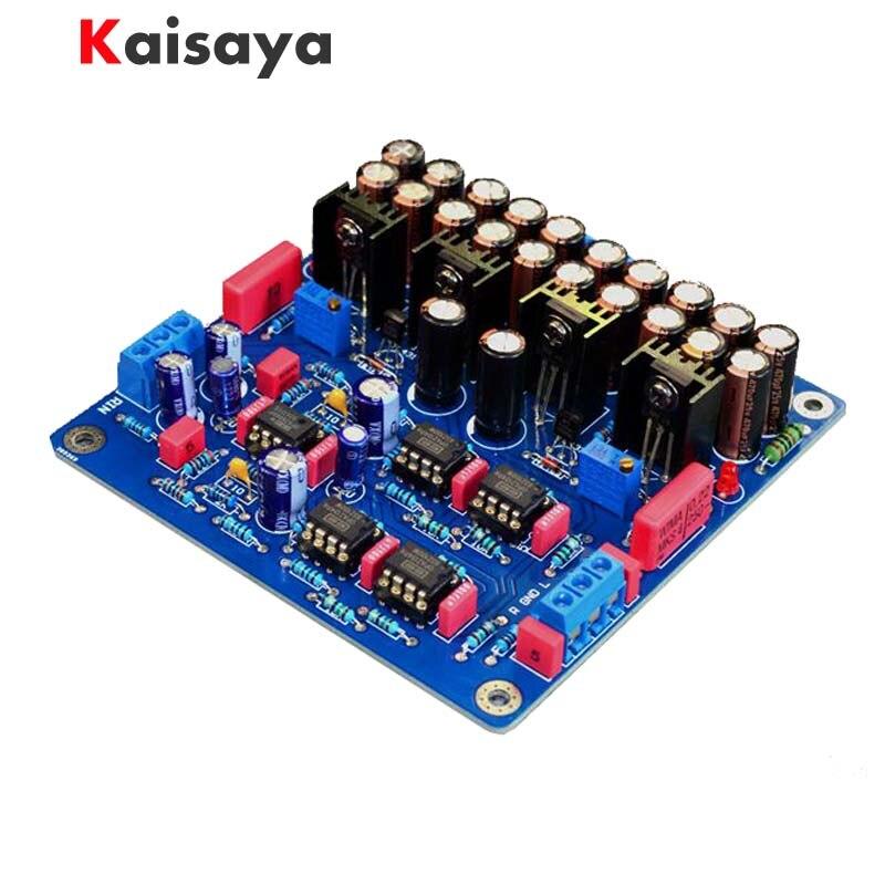 N5 OPA2604 NE5532 class A power HIFI Preamp amplifier finished board