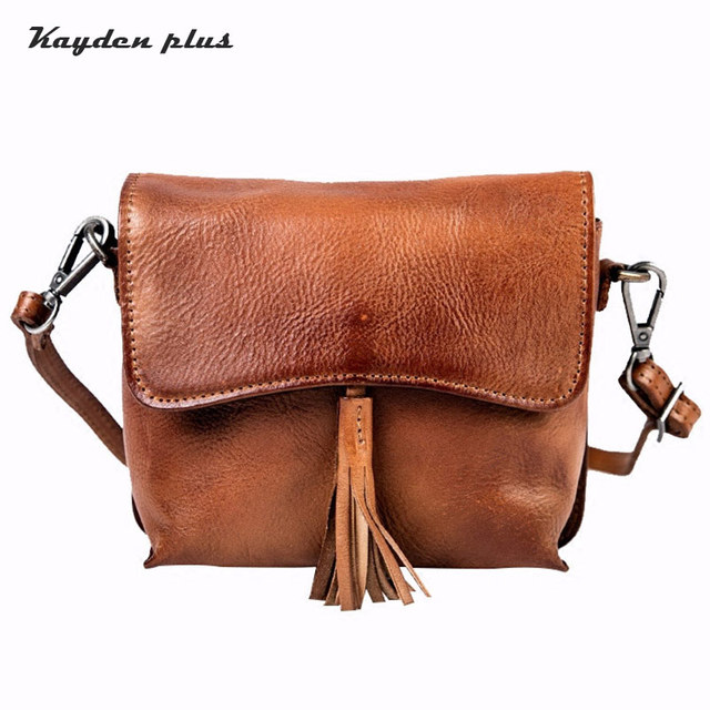 4114ad300312 Hot Sale Women Messenger Bags Genuine Leather Fashion Mini Crossbody Bag  Leather Women Shoulder Bags postman Bag Girls School