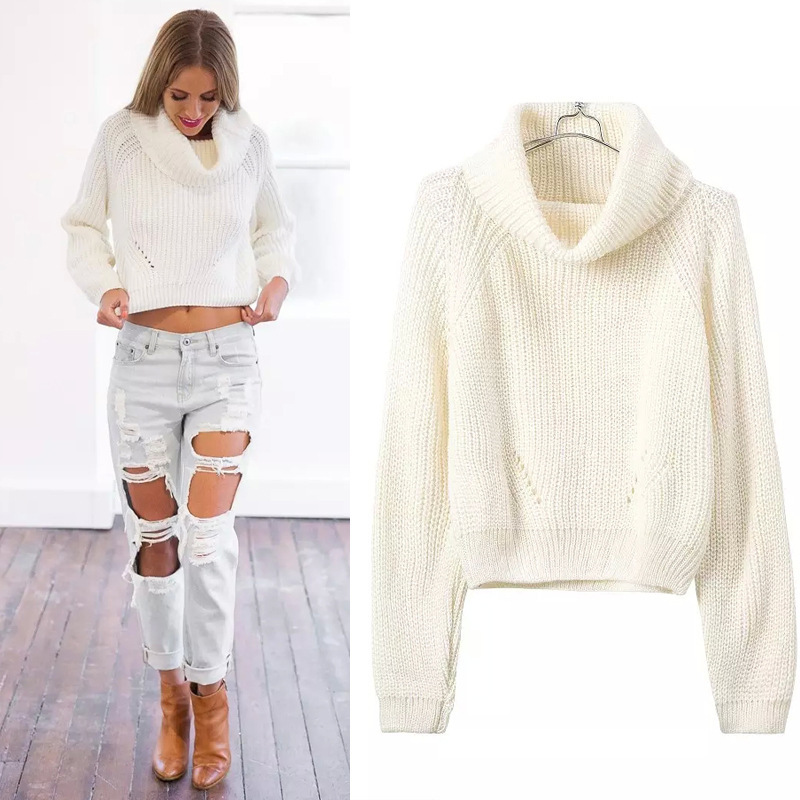 Aliexpress.com : Buy Wool Women Knitted Sweaters And Pullovers ...