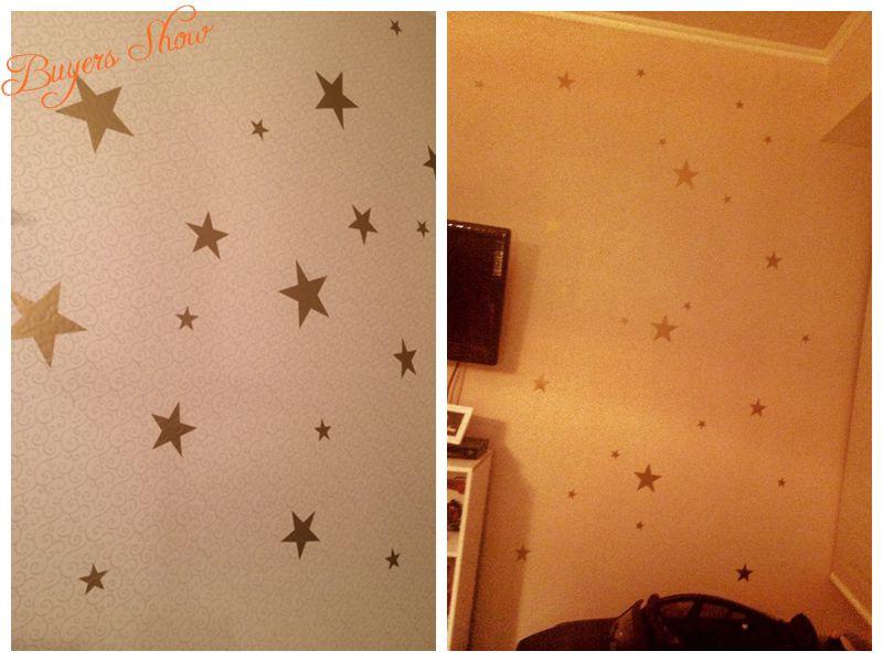 HTB1lBRwKXXXXXcbXpXXq6xXFXXXI - Gold stars wall decal vinyl stickers For Kids Rooms