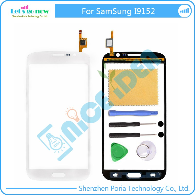 For Samsung Mega 5.8 i9152 Glass Lens Touch Screen Digitizer Replacement Parts