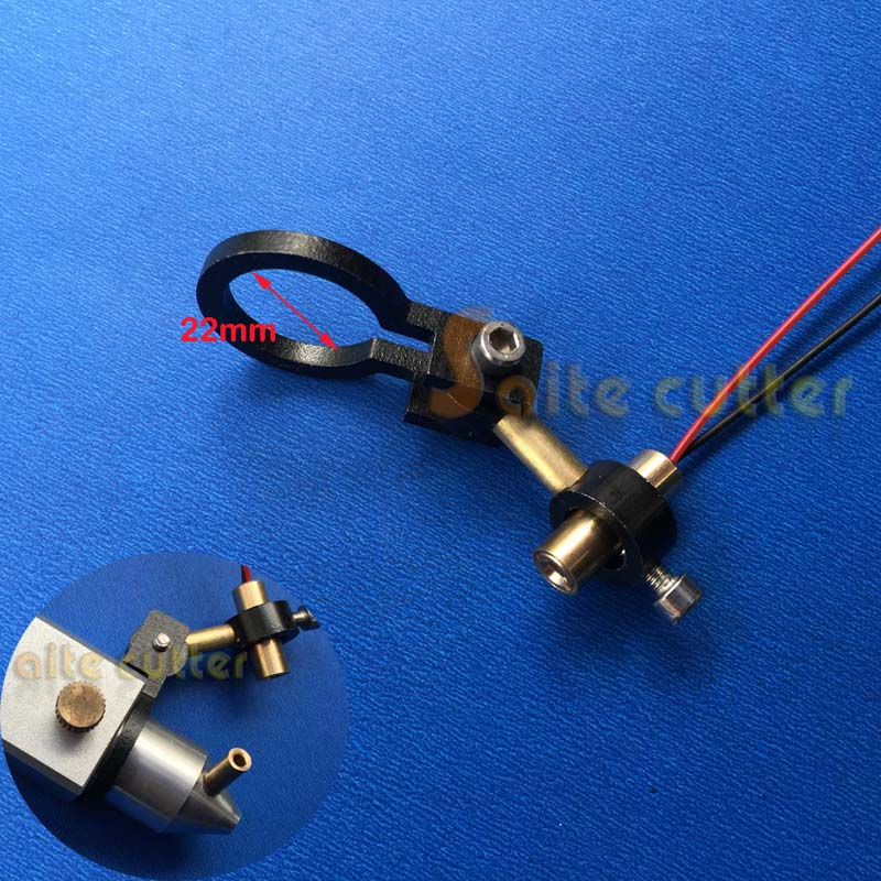K40 Co2 Laser Head Focus Adjustable Focal Diode Module Red Dot Position Engraver Cutter Dia  22mm