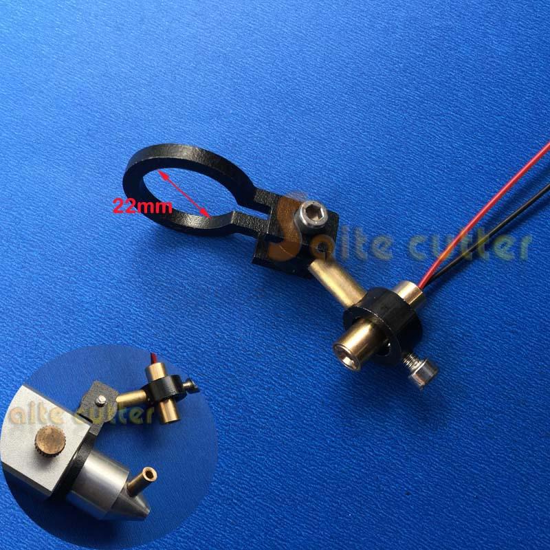 K40 Co2 Laser Head Focus Adjustable Focal Diode Module Red Dot Position Engraver Cutter Dia  22mm