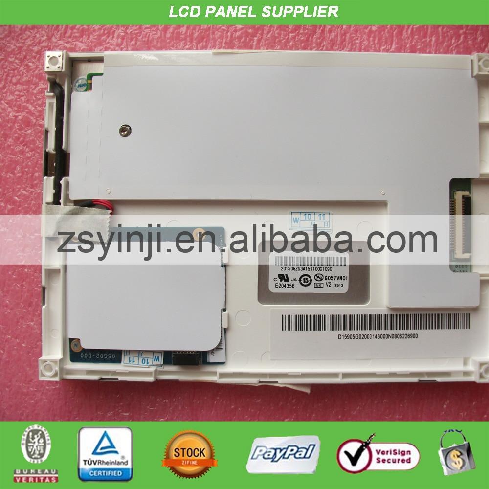 5.7 Inch lcd screen G057VN01 V2 G057VN01 V.2