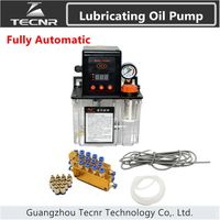 Full Set Automatic Lubricati Oil Pump Digital Electronic Timer Gear Pumps For Cnc Machine