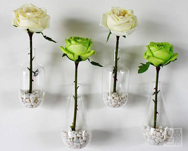 AliExpress & 2pcs/lot flower vase home decoration glass vase decorative vases home wall decor flower pots planters wedding or party decor