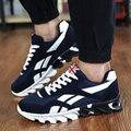 Zapatos masculinos 2016 de Los Hombres Entrenadores Walking Trail Runner racer Zapatos Ligeros Respirables de Aire Zapatos de Moda Casual Krasovki Tenisky YS H-030