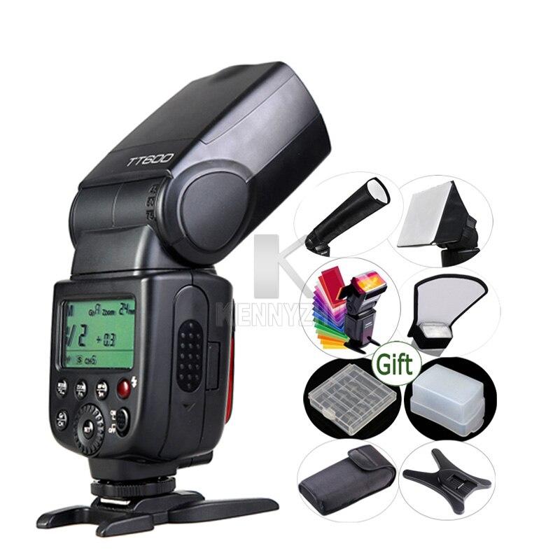 GODOX TT600 GN60 Flash Light Master Slave Speedlite 2 4G Wireless System for DSLR Camera Canon
