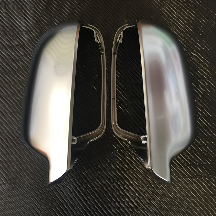 For Audi A4 B8K A5 Chrome Rearview Mirror Shell