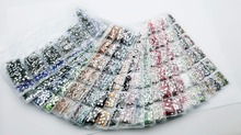 31 Colors SS3-SS10 Mix Sizes 1728pcs/Bag Crystal Glass Nails Art Rhinestones For 3D Nail Art Rhinestones Decoration Gems