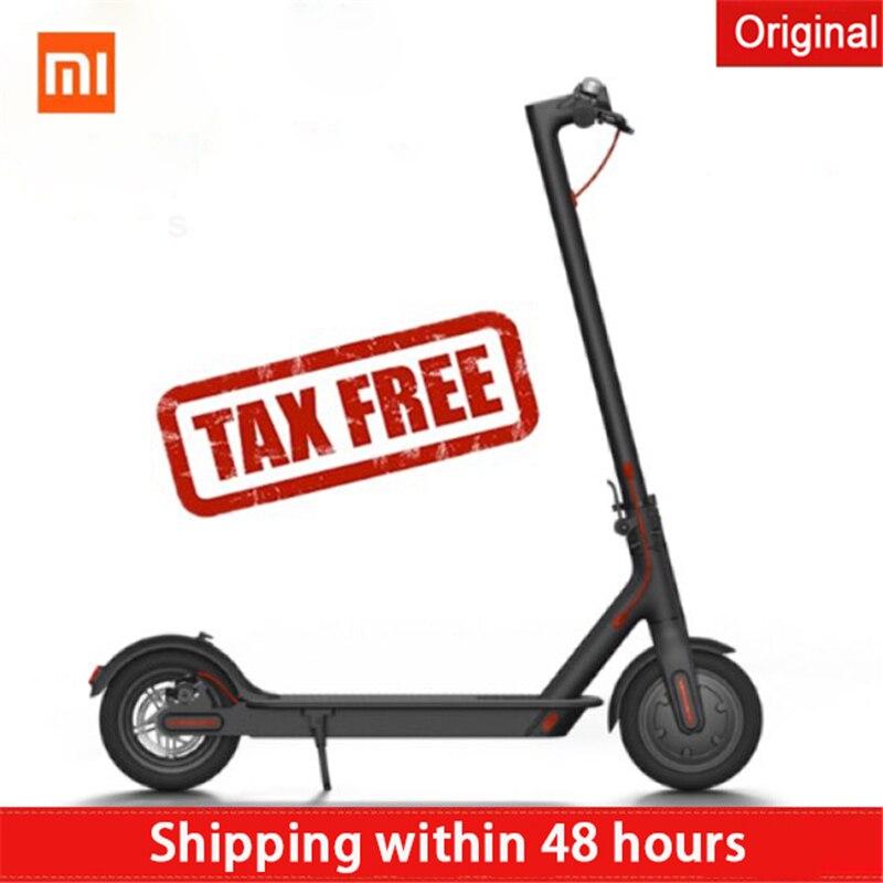 Di vendita caldo xiaomi scooter Elettrici hoverboard Magnesuim-in lega di alluminio longboard Norma Mijia Smart scooter popolare germania stock