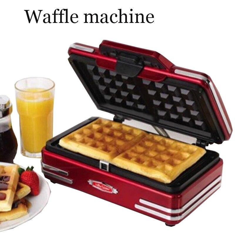 Home mini waffle machine electric waffle maker breakfast waffle machine DIY waffle baking machine baking maker 750W/220V