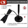 GSM присоски антенна 2100 МГц 30dbi с высоким коэффициентом усиления автомобиль 3 м удлинитель SMA мужской