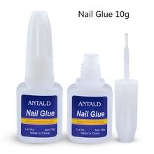 цена на 10g Nail Glue for Nails Art Tips Decorations False Fake Acrylic rhinestones Gel Manicure Tool