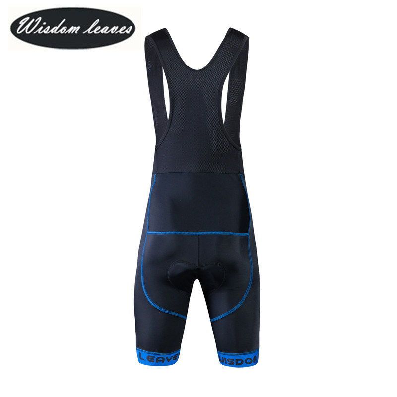 Wisdom Leaves 2017  Men profesional cycling jersey bib shorts Women Short pantalones bib shorts de ciclismo verano ODM