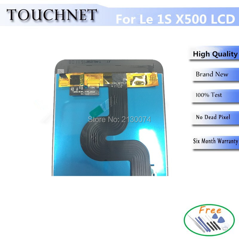Assembly Touch Screen and LCD Display Without Frame For Letv LeEco 1s X500 LCD and Compatible le1s le 1s Le1s X500 brand new lcd with touch screen panel digitizer for letv leeco 1s x500 lcd display for letv le 1s x501 phone with tools 1pcs