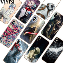 Star Wars Phone case For Apple iPhone X Case IPhone 7 8 6 6S Plus 5 5S SE XS Etui Marvel Hero Coque Fundas Silicona casos para чехол для iphone 5 iphone 5s iphone se deppa art case star wars изгой вейдер 2