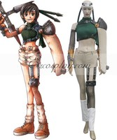 Final Fantasy VII Yuffie Kisaragi Cosplay Costume E001