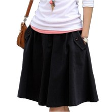 Размера плюс одежда повседневная юбка размера плюс юбка средней длины юбки женские S, M, L, XL, XXL, XXXL, 4XL, 5XL, 6XL