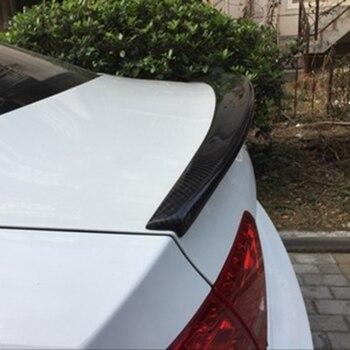 カーアクセサリー炭素繊維変更されたリアスポイラーテールトランク翼boot lipウイングフィット用アウディa5 s5スポーツバック4ドア2009-2016