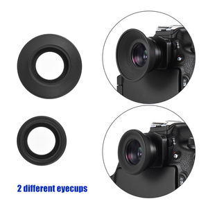 Image 5 - 1.51X Fixed Focus 6 wizjer góra podstawa okularu Eyecup lupa dla Canon Nikon Sony Pentax Olympus Fujifilm itp DSLR Camera