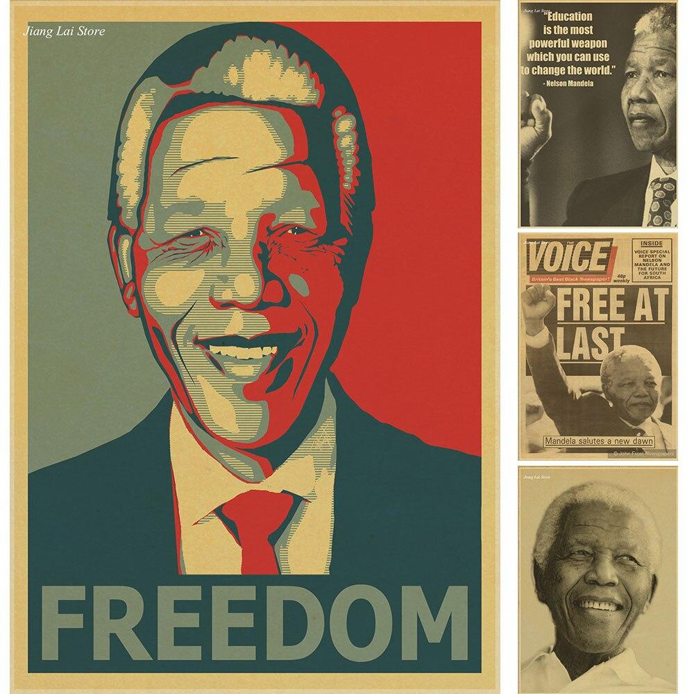 Los mayores sudafricanos a mandela carteles decoraciones de la fiesta de navidad