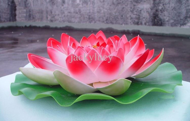 60 cm promjer velika veličina umjetna simulacija cvijet lotosa za - Za blagdane i zabave - Foto 1