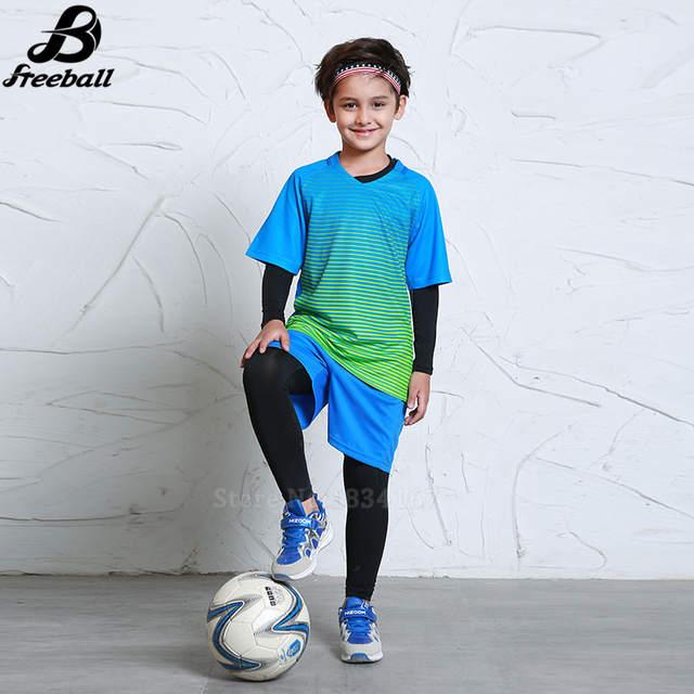 Online Shop Survetement football 2017 boys football uniforms thai quality  training sets soccer jerseys for kids soccer kits new arrival  3d8b9c002
