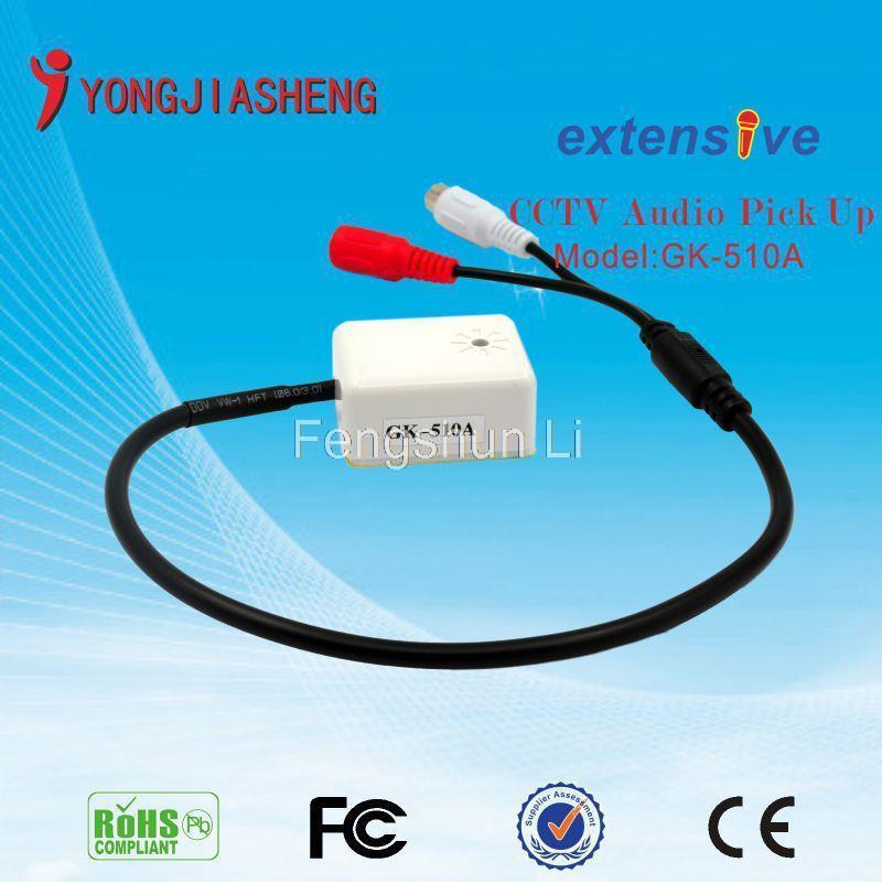 Microphone Sound Monito CCTV Audio Pickup Surveillance