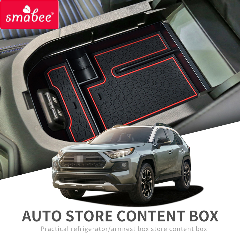 For Toyota Highlander 2017 2018 2019 CAR Central Stroage Box Switch cover trim