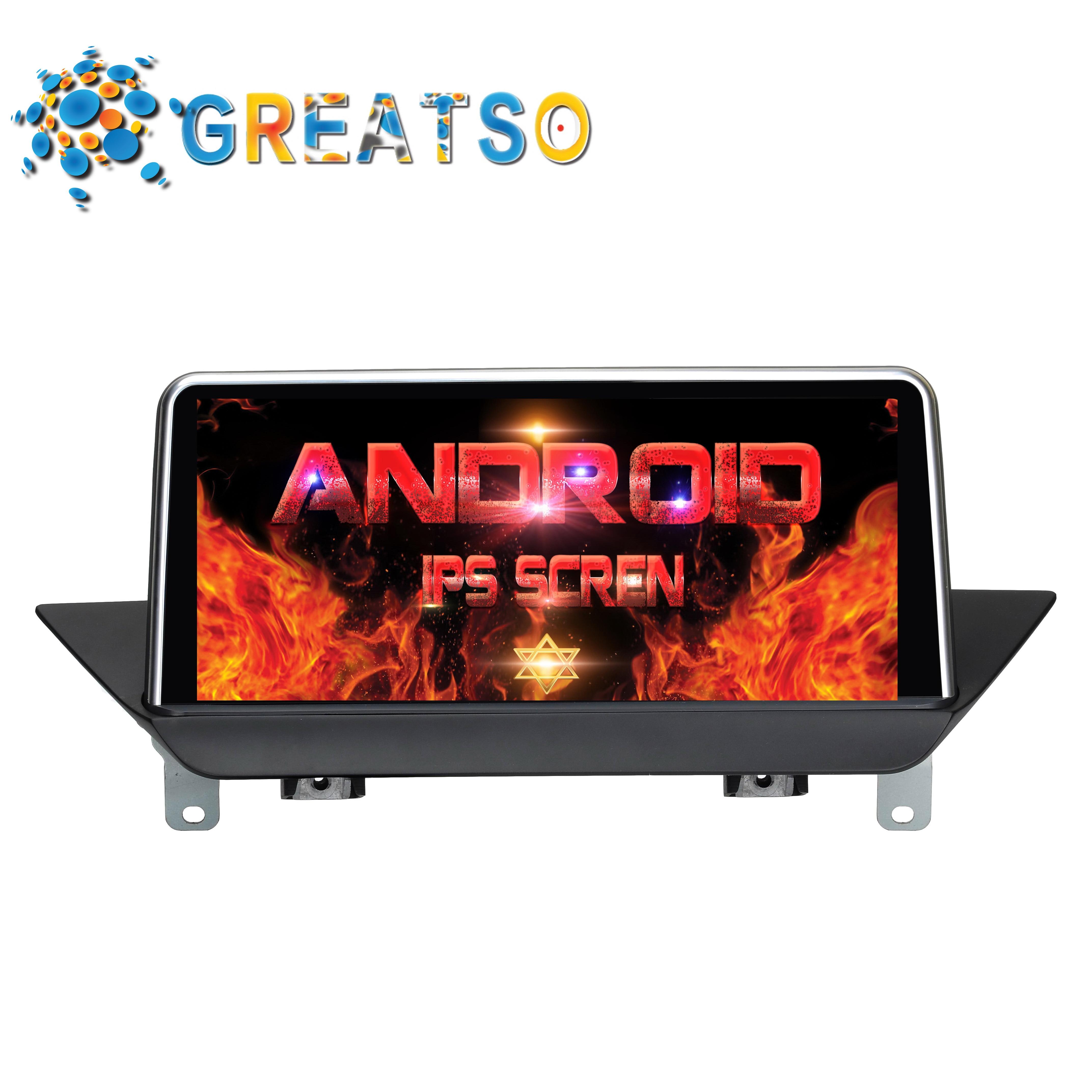 Android 7.1.1 DVD Audio de voiture pour BMW X1 E84 avec écran d'origine/système CCC gps récepteur multimédia de voiture écran de moniteur de voiture