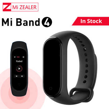In Stock!!! Global Version Xiaomi Mi Band 4 Multi-Language Smart band Wristband Bracelet 135mAh Bluetooth 5.0 Smartwatch - DISCOUNT ITEM  5% OFF All Category