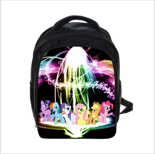 Anime Mi pequeño Pony Mochila Princesa Celestia/Twilight Sparkle Bolsos de Escuela Niños Niñas Bolsa de Mochilas Escolares Para Los Adolescentes