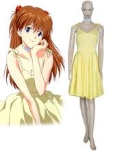 Envío libre neon genesis evangelion soryu asuka langley dress anime cosplay costume