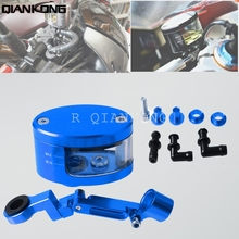 R QIANKONG CNC Brake Fluid Reservoir Oil Cup For Yamaha R1 R6 R3 TMAX 500 530 XMAX 125 200 400 MT -07 02 25 01 MT-09 MT07 YZF