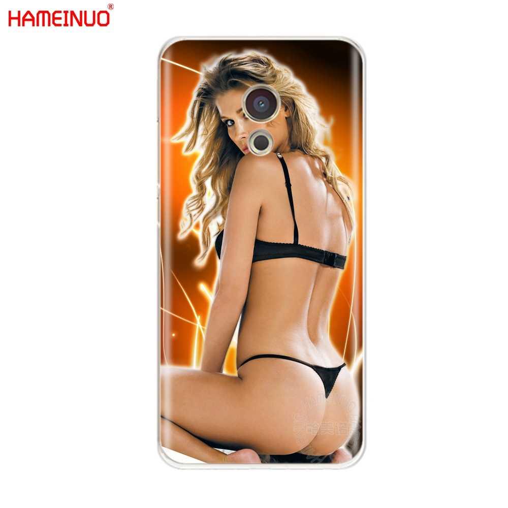 HAMEINUO Sexy Anime Bikini dziewczyna lady kobiety pokrywa etui na telefon do Meizu M6 M5 M5S M2 M3 M3S MX4 MX5 MX6 PRO 6 5 U10 U20 note plus