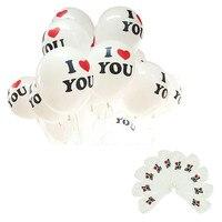 100 قطع أحبك الحبيب الزفاف الزواج الحب بالونات/50*75 cm بالونات حزب اللوازم الديكور