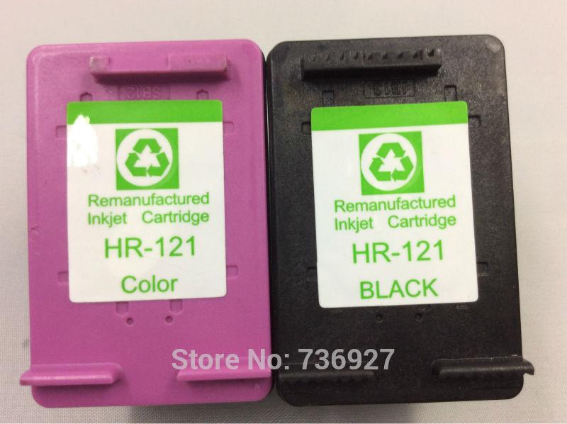 2PK 121 121XL Cartridge for HP 121 121XL Ink Cartridge For HP  Deskjet F4283 F2423 F2483 F2493 F4213 F4275 F4283 F4583 printer 2pcs compatible ink cartridge hp121xl hp121 for deskjet f4210 f4213 f4240 f4272 f4275 f4280 f4283 f4288 f4500 f4580 f4583