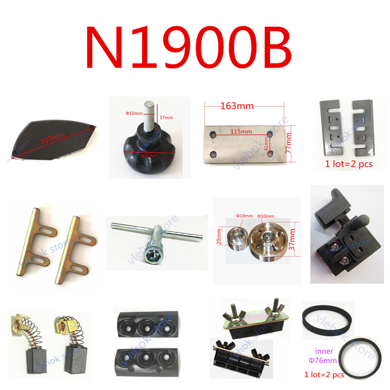 Replace For MAKITA  N1900B Knob Handwheel Switch Carbon Brushes  Blade Holder Power Tool Accessories Electric Tools Parts