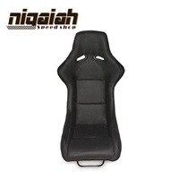 2PCS/LOT Universal Drift Racing Bucket Seat Red/Blue/Black/Yellow Sport Racing Carbon fiber Velvet Car Seat