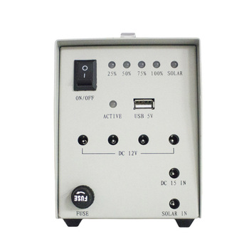 Home Solar Outdoor Lighting Supply Solar Panel Solar Light 12V40W Portable Solar Generator 3